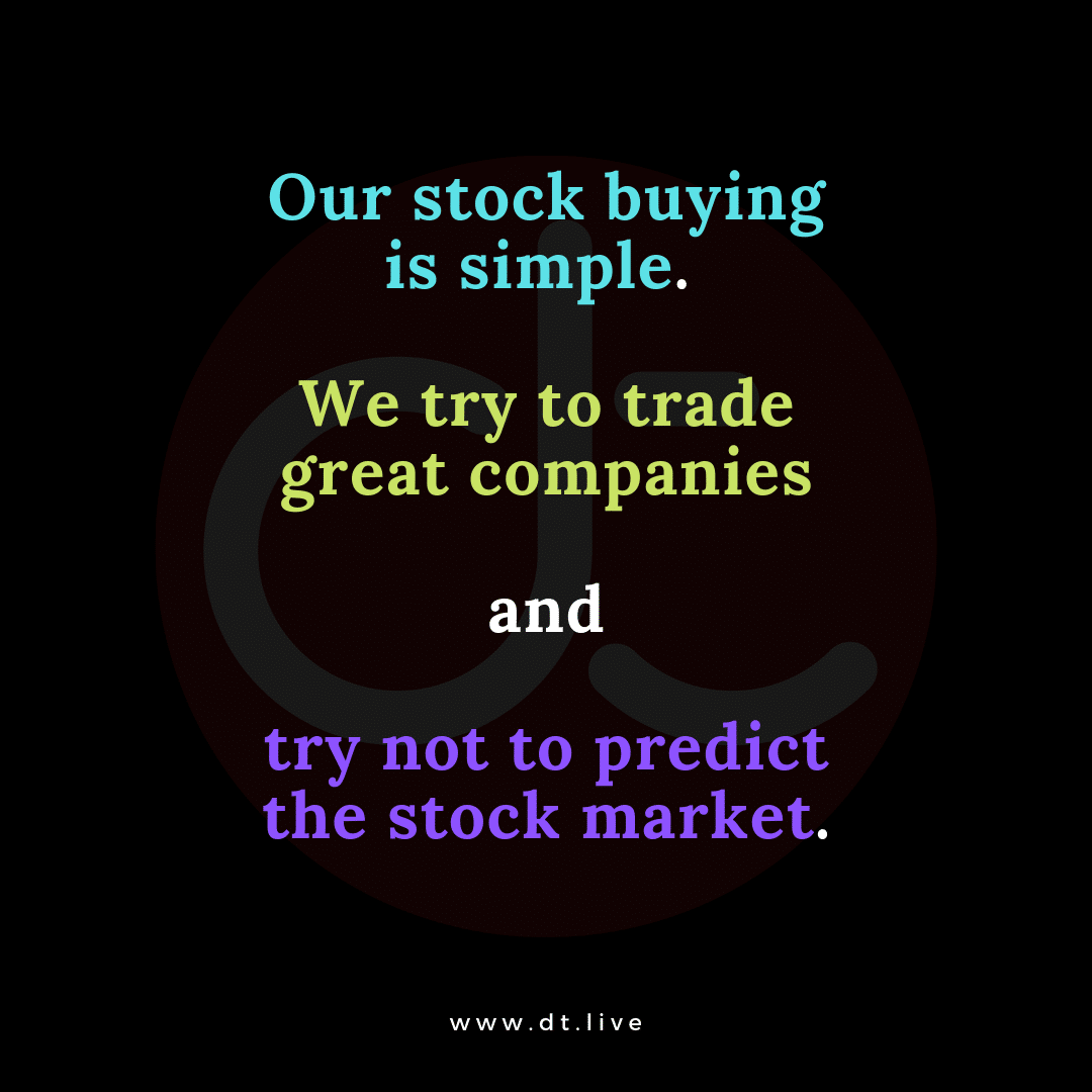 Stock buying simple