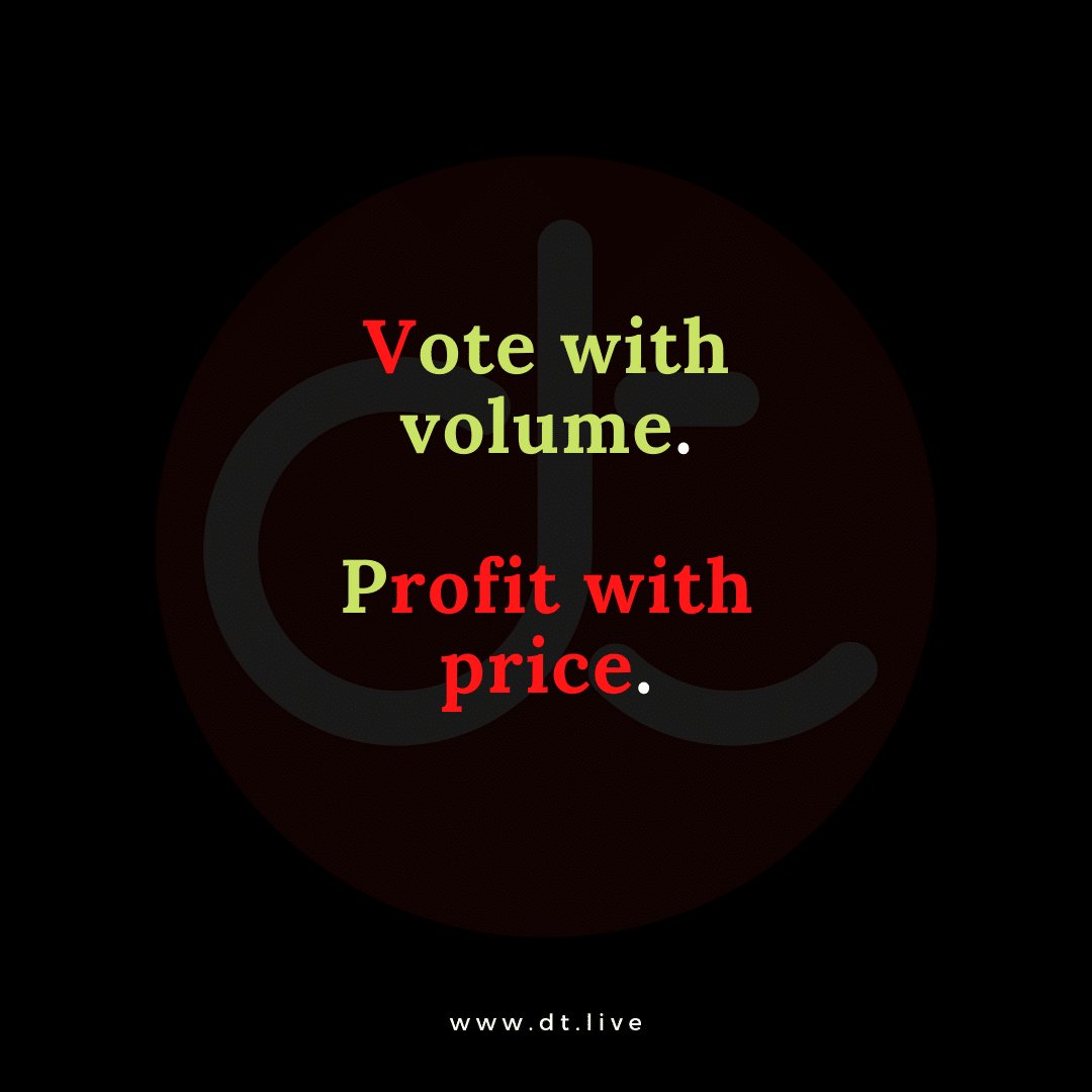 Volume and price