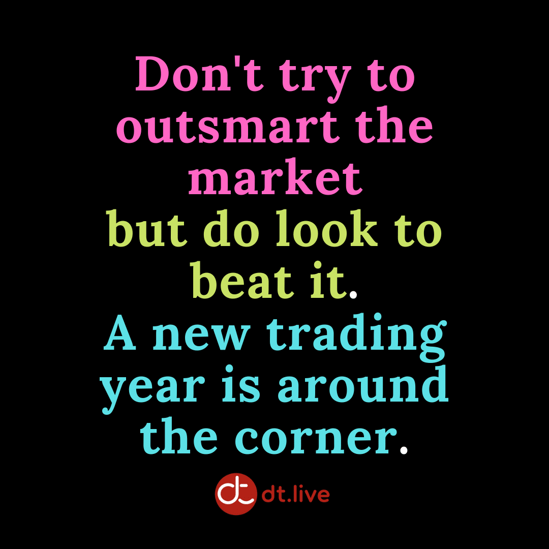 Don't try to outsmart the market but do look to beat it.